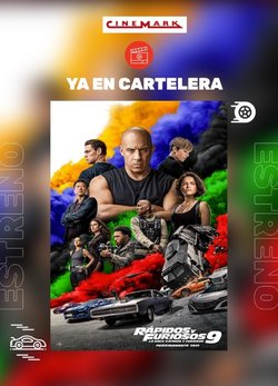 Catálogo Cinemark ( Publicado ayer)