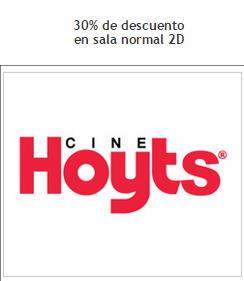 Ofertas de Cine Hoyts  en el catálogo de Santiago
