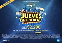 Ofertas de CineHoyts  en el catálogo de Santiago