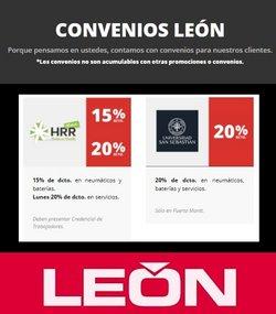 Ofertas de León en el catálogo de León ( 5 días más)