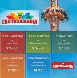 Ofertas de Viajes y Ocio en el catálogo de Fantasilandia ( 19 días más)