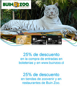 Ofertas de Buin Zoo  en el catálogo de Buin