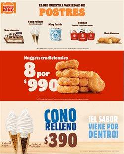 Ofertas de Restaurantes y Pastelerías en el catálogo de Burger King ( 12 días más)