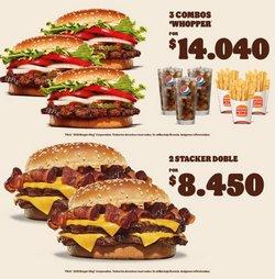 Ofertas de Restaurantes y Pastelerías en el catálogo de Burger King ( 5 días más)
