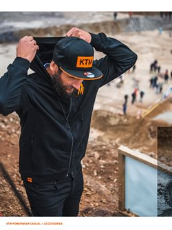 Ofertas de Campera deportiva en KTM