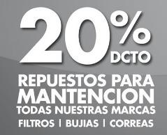 Ofertas de Repuestos Express  en el catálogo de Santiago