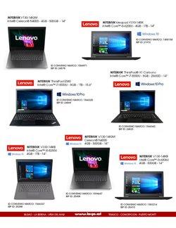 Ofertas de Lenovo en el catálogo de Bip ( Más de un mes)