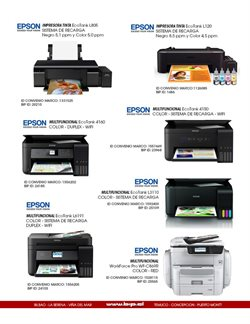 Ofertas de Impresoras en Bip