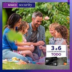 Ofertas de Bancos y Servicios en el catálogo de Security ( 5 días más)