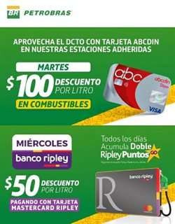 Catálogo Petrobras ( Más de un mes )