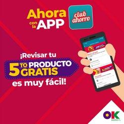 Ofertas de OK Market en el catálogo de OK Market ( 2 días más)