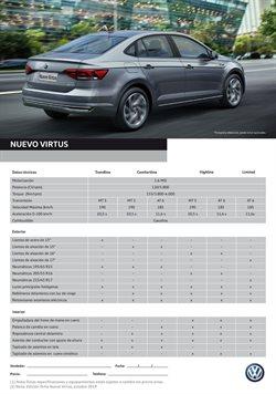 Catálogo Volkswagen ( Más de un mes )