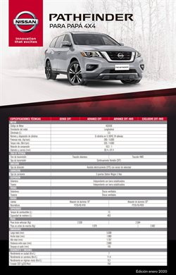 Ofertas de Modelos de autos en Nissan