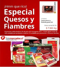 Ofertas de Supermercados y Alimentación en el catálogo de Telemercados ( Vence mañana)