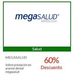 Ofertas de Megasalud  en el catálogo de Santiago