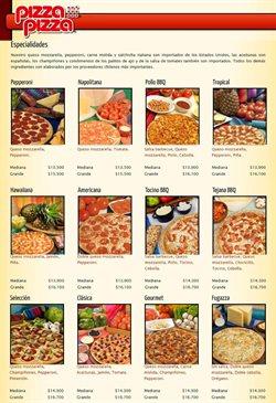 Catálogo Pizza Pizza ( Más de un mes )