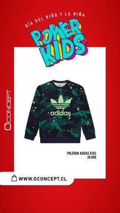 Ofertas de Adidas en el catálogo de Oconcept ( Publicado hoy)