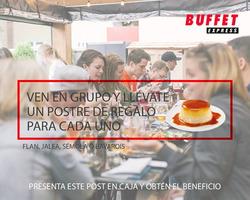 Ofertas de Buffet Express  en el catálogo de Santiago