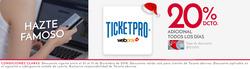 Ofertas de TicketPro  en el catálogo de Santiago