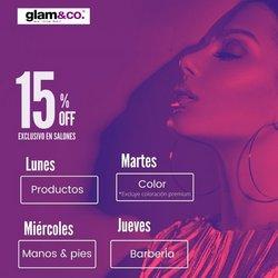 Ofertas de Glam & Co en el catálogo de Glam & Co ( Más de un mes)