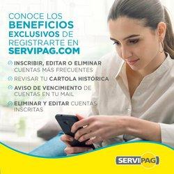 Catálogo Servipag ( Más de un mes)