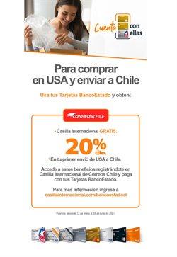 Ofertas de Bancos y Servicios en el catálogo de Correo Chile ( 9 días más)