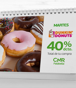 Ofertas de Dunkin Donuts  en el catálogo de Santiago