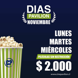 Ofertas de Cine Pavilion  en el catálogo de Punta Arenas