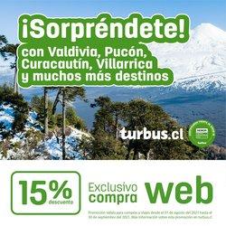 Ofertas de Viajes y Ocio en el catálogo de Tur Bus ( 7 días más)