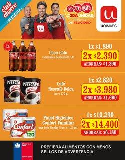 Ofertas de Supermercados y Alimentación en el catálogo de Unimarc ( Publicado ayer)