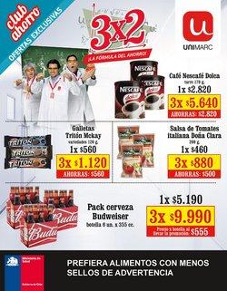 Ofertas de Supermercados y Alimentación en el catálogo de Unimarc ( 5 días más)