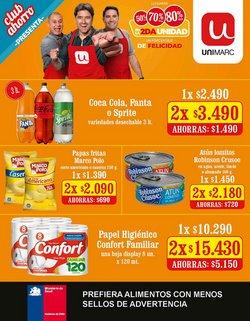 Catálogo Unimarc ( Vence mañana)