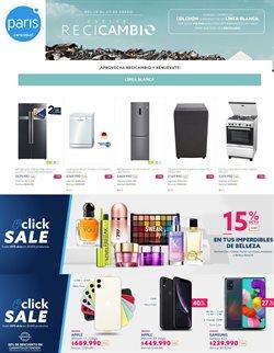 Ofertas de perfumes en el catálogo de Paris ( Vence hoy)