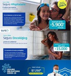 Ofertas de Bancos y Servicios en el catálogo de SURA ( 19 días más)