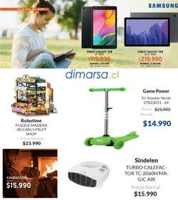 Ofertas de Almacenes en el catálogo de Dimarsa ( Vence hoy)