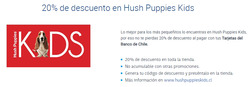 Ofertas de Hush Puppies Kids  en el catálogo de Santiago