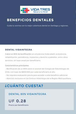 Ofertas de Farmacias y Salud en el catálogo de Vida Tres ( 2 días más)