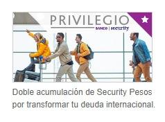 Ofertas de Banco Security  en el catálogo de Las Condes