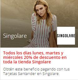 Ofertas de Singolare  en el catálogo de Santiago