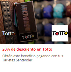 Ofertas de Totto  en el catálogo de Las Condes