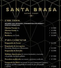 Ofertas de Restaurantes y Pastelerías en el catálogo de Santabrasa ( 9 días más)