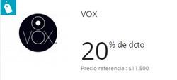Ofertas de Vox  en el catálogo de Santiago