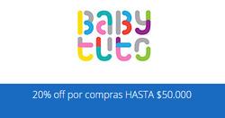 Ofertas de Baby Tuto  en el catálogo de Santiago