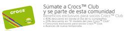 Ofertas de Crocs  en el catálogo de Santiago