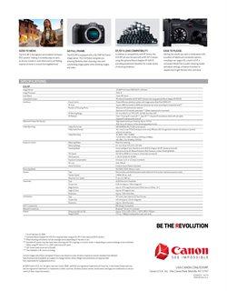 Ofertas de Video en Canon