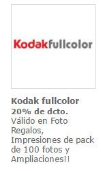 Ofertas de Kodak  en el catálogo de Punta Arenas