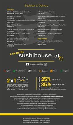 Ofertas de Quinoa en Sushi House