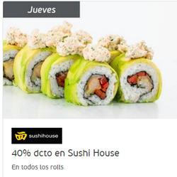 Ofertas de Sushi House  en el catálogo de Santiago
