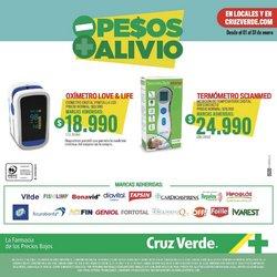 Ofertas de Termómetro en Cruz Verde