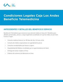 Ofertas de Bancos y Servicios en el catálogo de Caja los Andes ( Más de un mes)